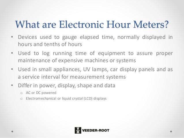 Hourmeters