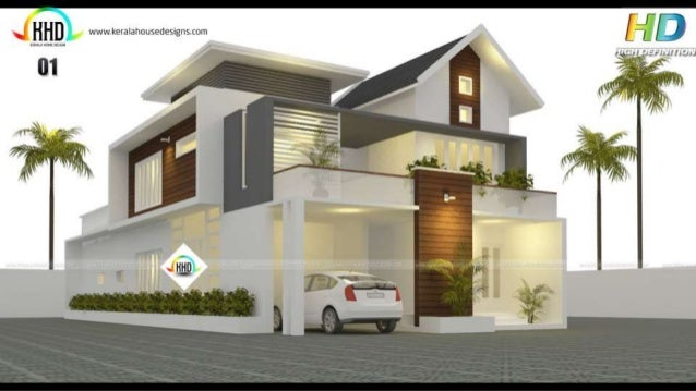 New House Designs Of February 2017 105 Exclusive House Architecture Designs  February 2017 House Design Trends ...