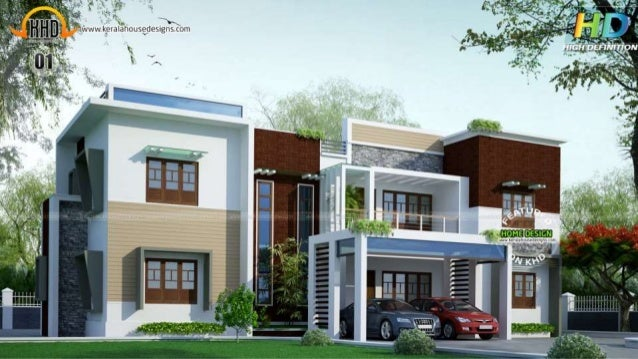 exclusive house plans kerala home design july 2015 - New House Pic