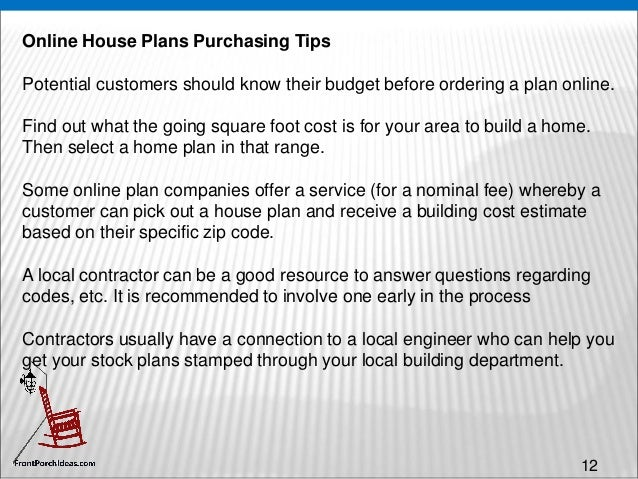 Modifications 12 12 Online House Plans