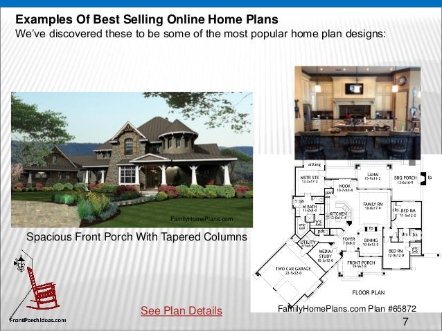 house plans online - with porches!
