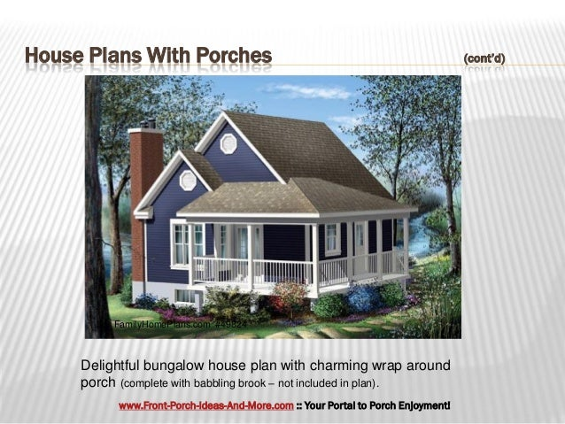 Fantastic House Plans With Porches on