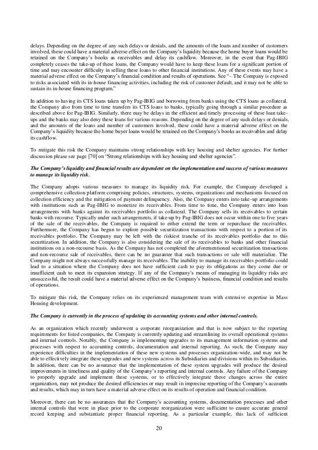 HOUSE Preliminary Prospectus (draft 2015-05-18) filed