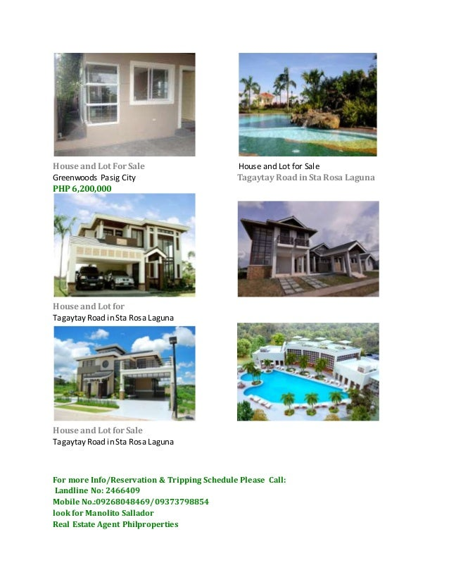House and lot in philippines for sale