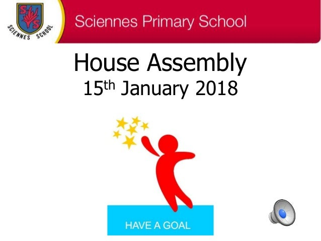 House Assembly 15th January 2018