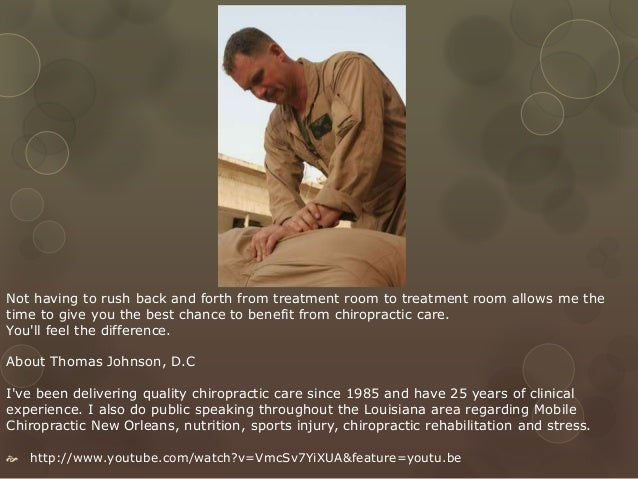 House Call New Orleans Chiropractor Open Saturday And