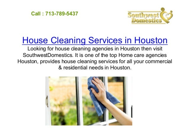 House cleaning and babysitting services in houston