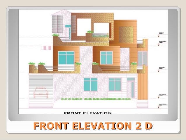 Floor Front Elevation Xp : House design home plan floor indian building