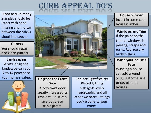 House For Sale The Importance Of Curb Appeal