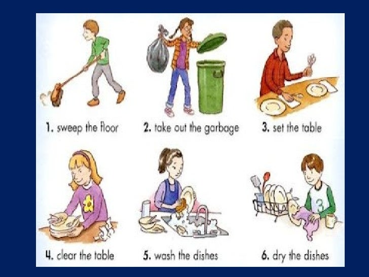 how i help my mother in house hold chores Running a household as a single parent can be challenging  which helps kids  remember their morning chores, like making the bed, without.