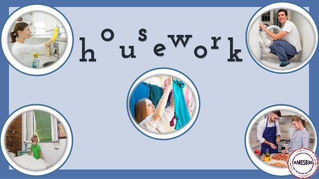 Household chores - English vocabulary Slide 3