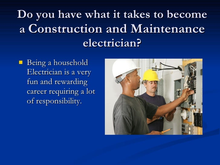 Household Electrician Apprenticeship