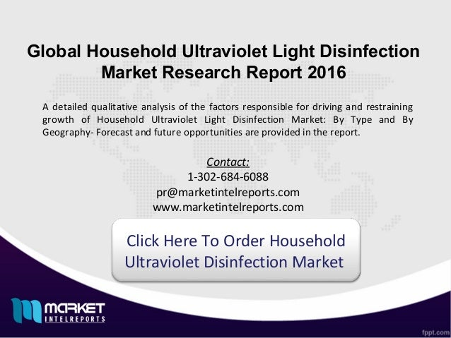uv light disinfection market in us In an increasingly regulated and safety-conscious market,  (uv) disinfection  uv is the part of the electromagnetic spectrum between visible light and x-rays.