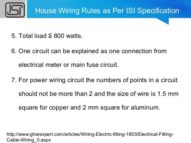 household wiring rh slideshare net house wiring rules pdf house wiring rules uk