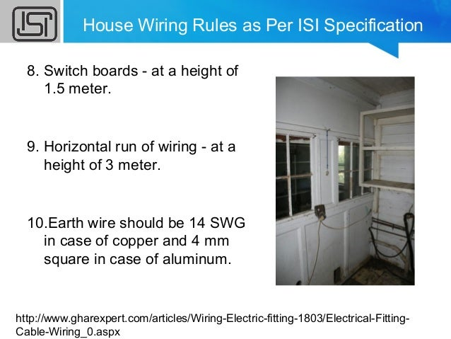 House Wiring Specifications - Merzie.net