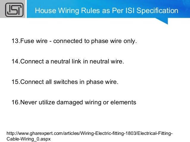 household wiring rh slideshare net house wiring rules pdf house wiring rules pdf