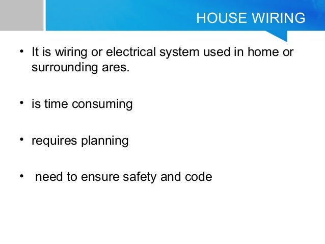 house hold wiring colors household    wiring     household    wiring