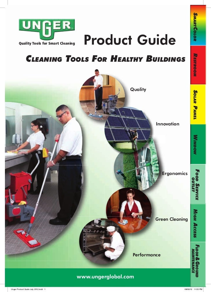 SmartColor        Quality Tools for Smart Cleaning     Product Guide               Cleaning toolS For HealtHy BuildingS   ...