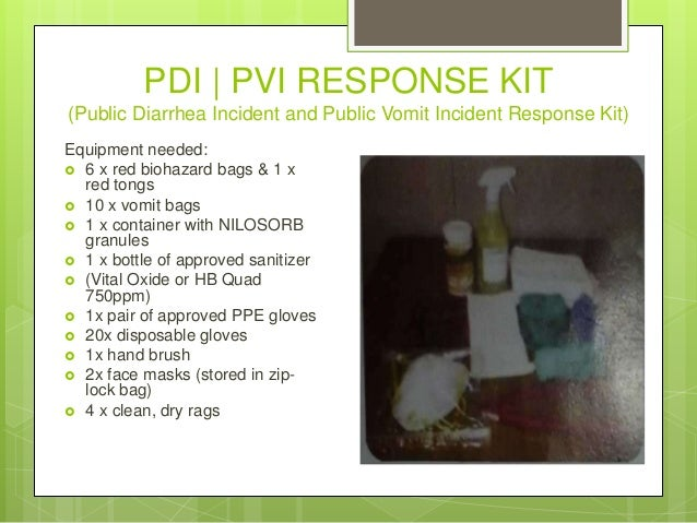 Cruise ship housekeeping chemicals knowledge