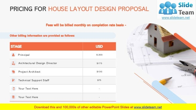STAGE USD Principal $ 200 Architectural Design Director $175 Project Architect $130 Technical Support Staff $75 Your Text ...