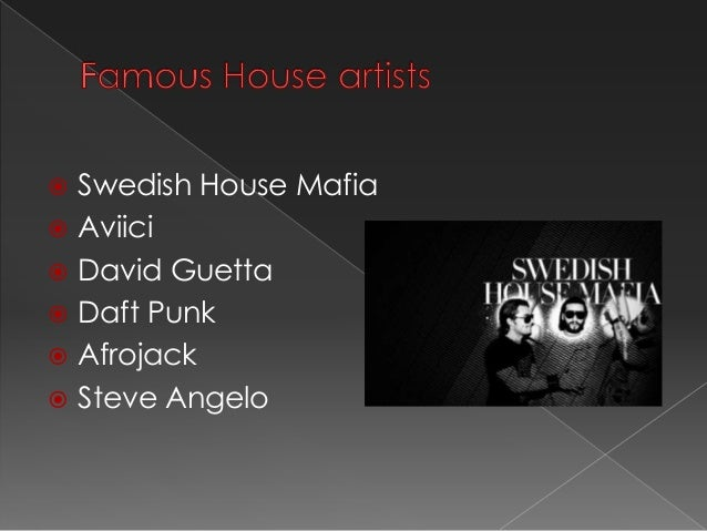 Types of house music