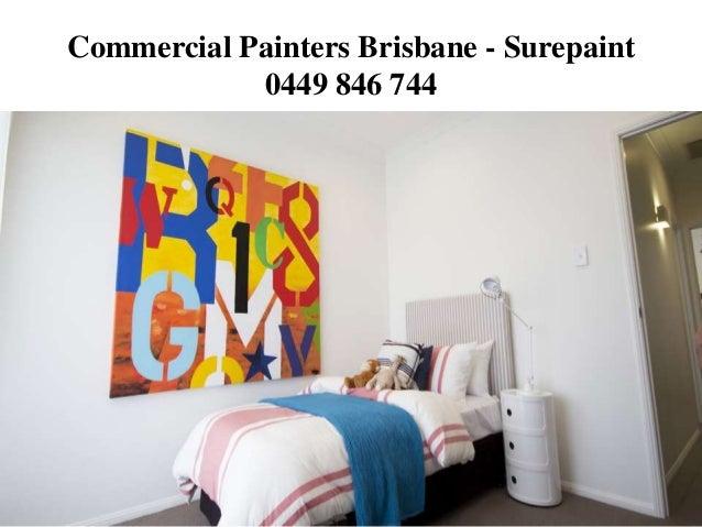 Commercial Painters Brisbane - Surepaint 0449 846 744