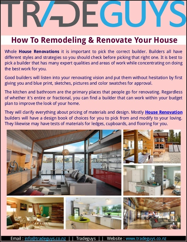 how to remodeling renovate your house whole house renovations it is important