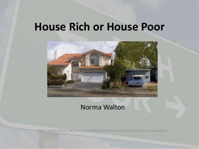 Rich House Poor House family receive gift from millionaire