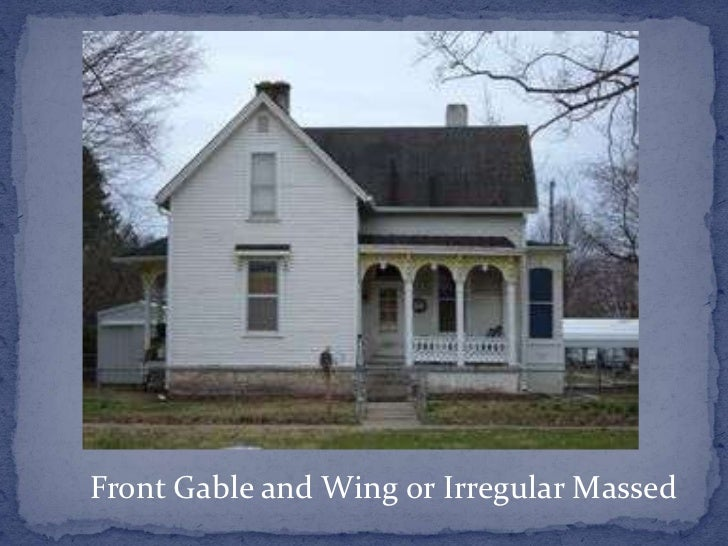 Neo Eclectic Gable And Wing