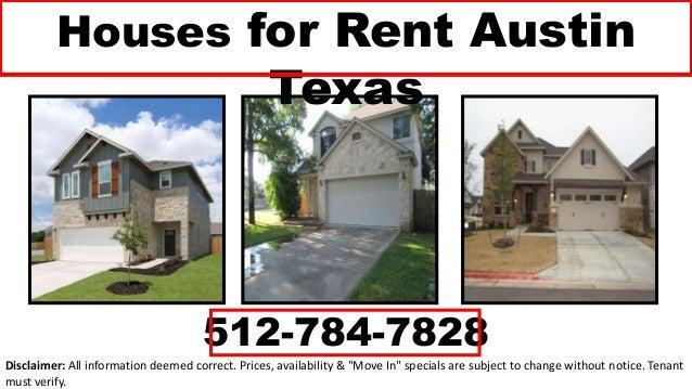 Houses for Rent Austin Texas