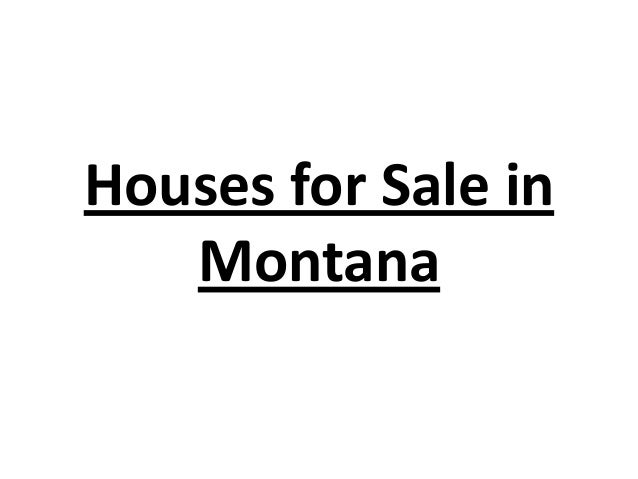 Houses for Sale in Montana