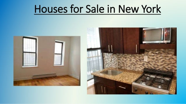 Houses for Sale in New York