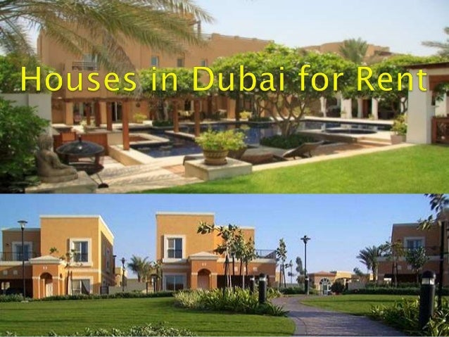 Dubai Homes For Rent