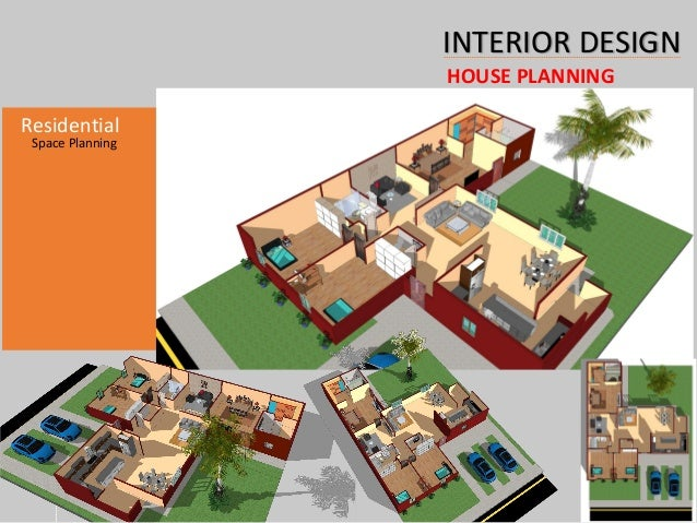 1 Year Residential Design Diploma INTERIOR DESIGN HOUSE PLANNING Space Planning