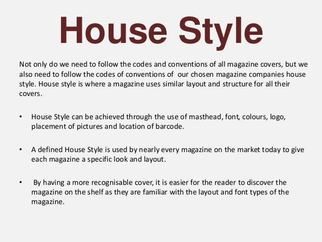 Marvelous House Style ...