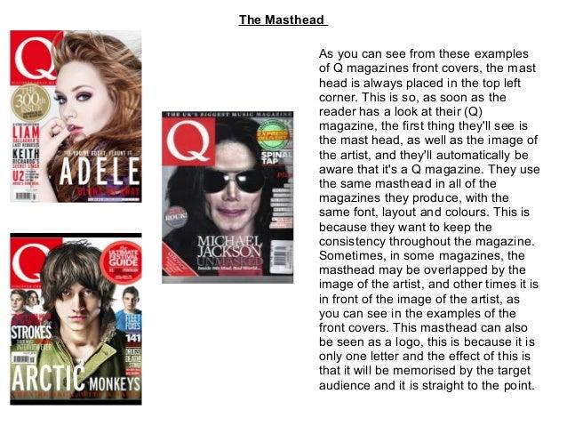 House Style Of Q Magazine