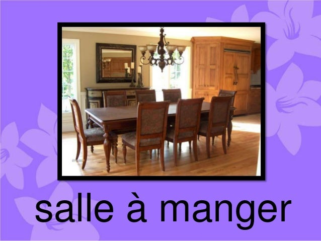 House words for Salle a manger crest