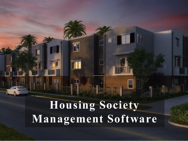 Click away hassles of Society Management