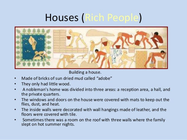Housing ancient egypt