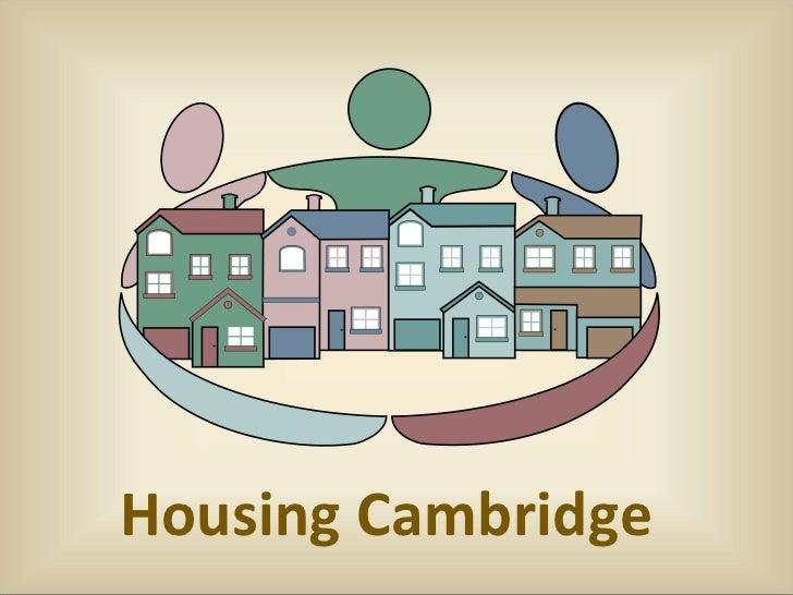 Housing Cambridge