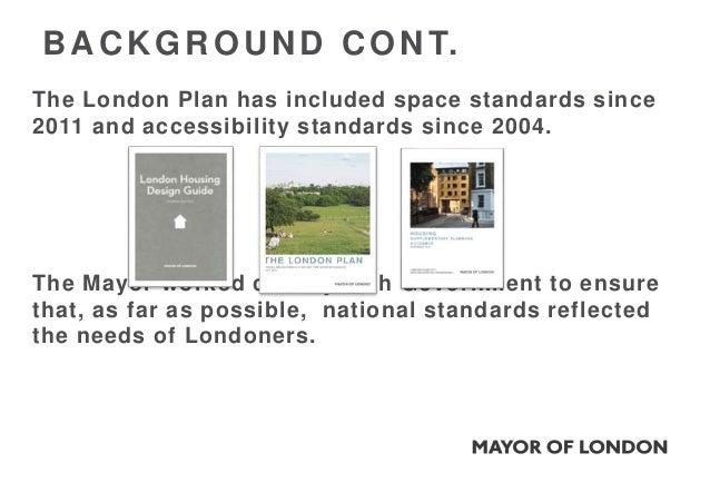 London plan housing space standards