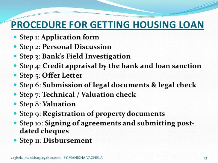 Documents Required For Sbi Home Loan Disbursement