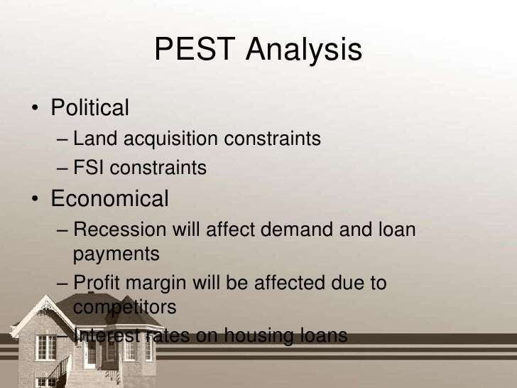 Pest analysis political economic social technical analysis
