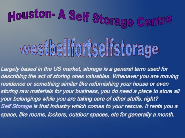 Largely based in the US market, storage is a general term used for describing the act of storing ones valuables. Whenever ...