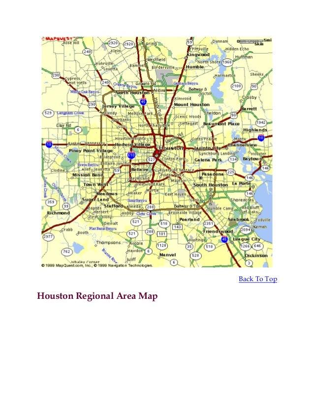 Houston area neighborhoods maps