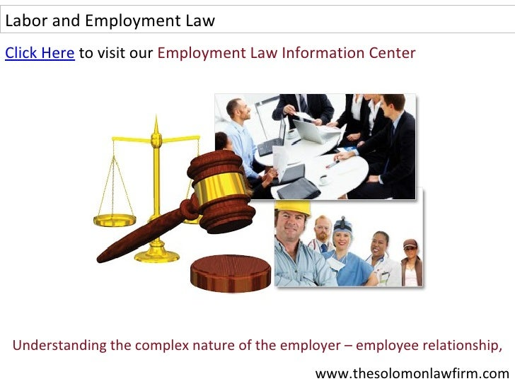 labor and employment law Founded in 1945, seyfarth shaw was among the earliest exclusive practitioners of what has become labor and employment law from that start, and straight through today, seyfarth's labor & employment practice has been an innovator in this field of law.