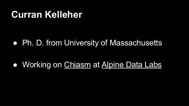 The Chiasm Visualization Platform Slide 2