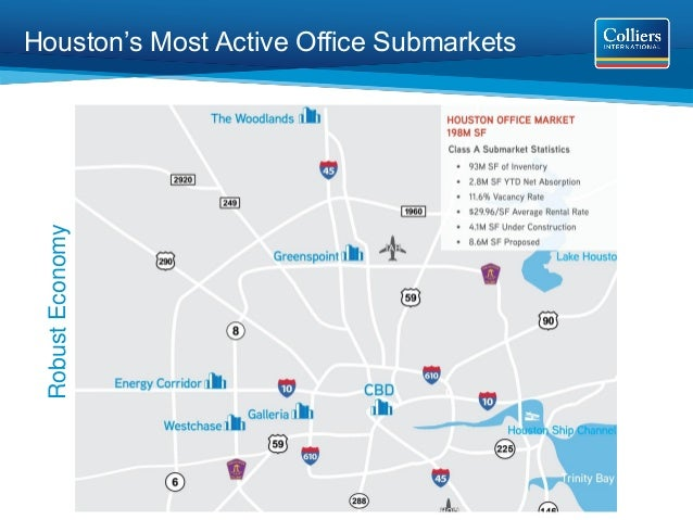 Houston's Most Active Office Submarkets  Robust Economy