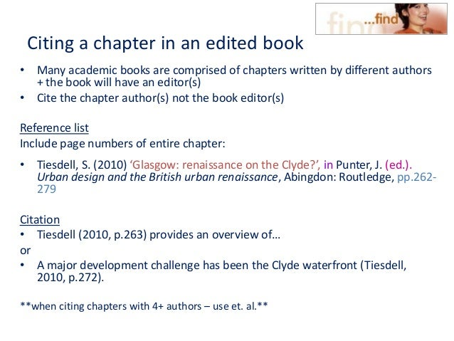 Hout cite harvard 2011 citing a chapter in an edited book ccuart Image collections