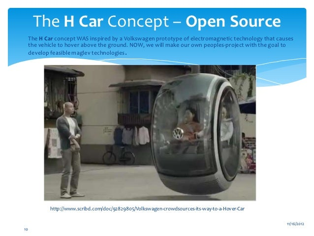 Hover Car Conceptual Design Project